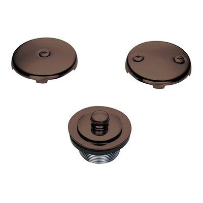 Lift and Turn Bath Drain Conversion Kit Finish: Oil Rubbed Bronze