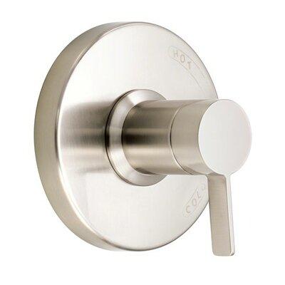 Amalfi Pressure Balance Trim Kit Lever Handle Finish: Brushed Nickel