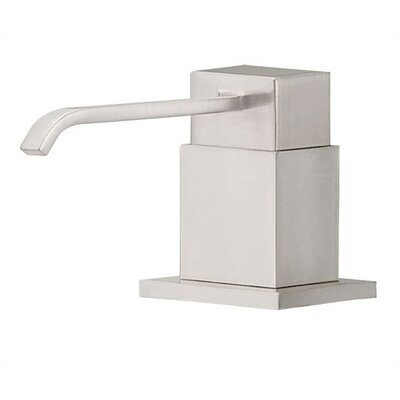 Sirius Soap & Lotion Dispenser Finish: Stainless Steel