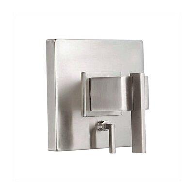 Sirius Pressure Balance Diverter Shower Faucet Trim Finish: Brushed Nickel