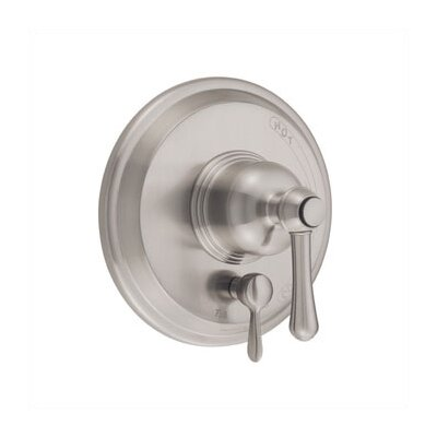 Opulence Pressure Balance Diverter Shower Faucet Trim Finish: Brushed Nickel