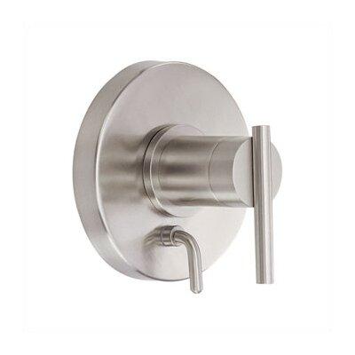 Parma Pressure Balance Diverter Shower Faucet Trim Finish: Brushed Nickel