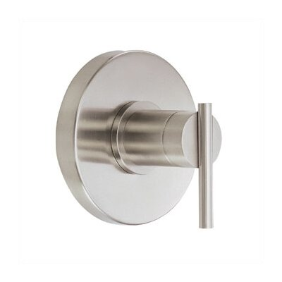 Parma Pressure Balance Diverter Shower Faucet Trim Finish: Brushed Nickel