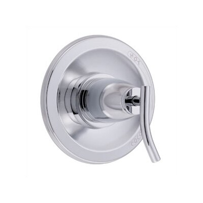 Sonora Pressure Balance Diverter Shower Faucet Trim with Level Handle Finish: Chrome