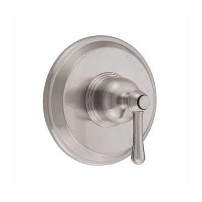 Opulence Pressure Balance Diverter Shower Faucet Trim with Level Handle Finish: Brushed Nickel