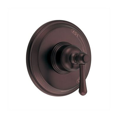 Opulence Pressure Balance Diverter Shower Faucet Trim with Level Handle Finish: Oil Rubbed Bronze