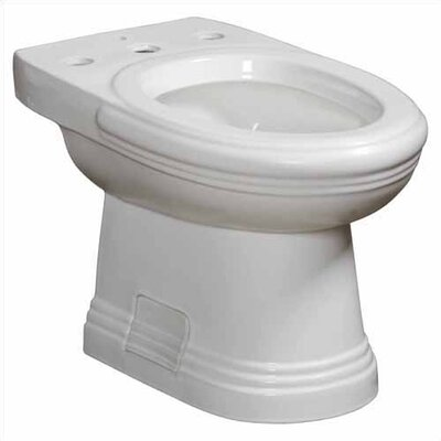 Orrington 15 Floor Mount Bidet Finish: White