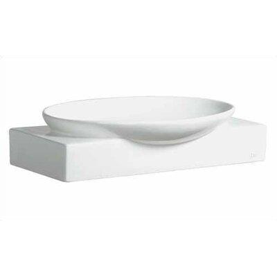 Ziga Zaga Ceramic Oval Vessel Bathroom Sink