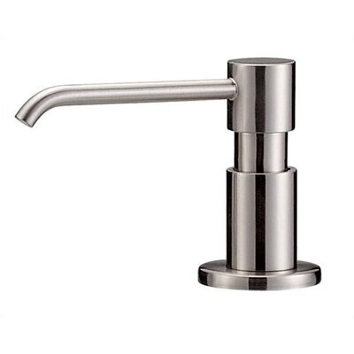 Parma Soap and Lotion Dispenser Finish: Stainless Steel