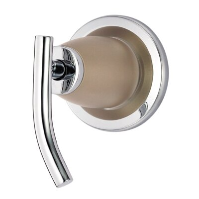 Sonora Volume Shower Faucet Trim with Level Handle Finish: Chrome w/Satin Nickel Accent