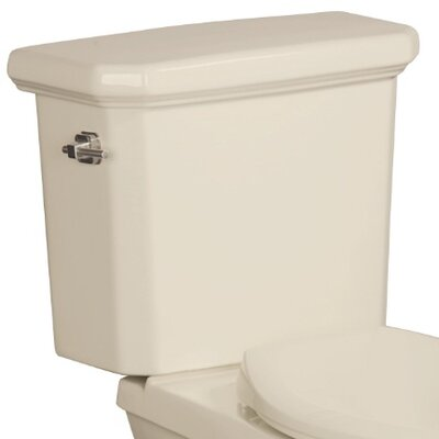 Cirtangular High Efficiency 1.28 GPF Toilet Tank Finish: Biscuit