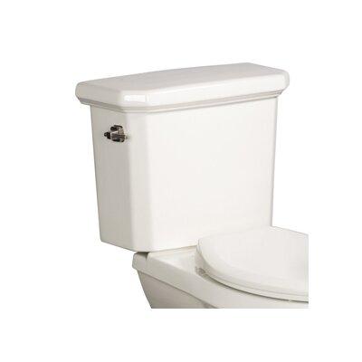 Cirtangular 1.6 GPF Toilet Tank Finish: White