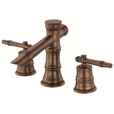 South Sea Double Handle Mini Widespread Bathroom Faucet Finish: Distressed Bronze