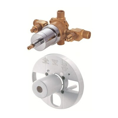 Accessories Pressure Balance Mixing Valve with Stops Finish: Rough Brass