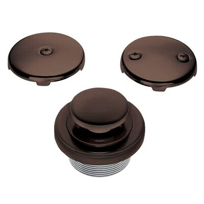 Accessories 1.5 Touch-Toe Tub Drain Conversion Unit Finish: Oil Rubbed Bronze
