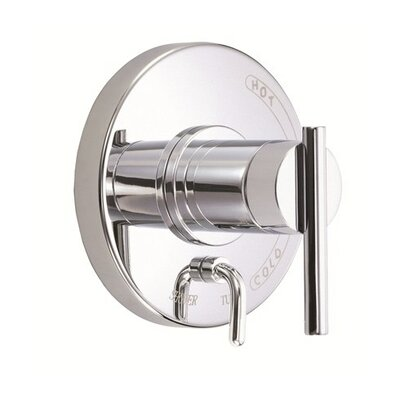 Parma Pressure Balance Diverter Shower Faucet Trim Finish: Chrome