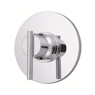 Parma Thermostatic Shower Faucet Trim Finish: Chrome