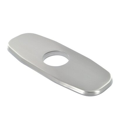 4 Accessories Centerset Cover Plate Finish: Brushed Nickel