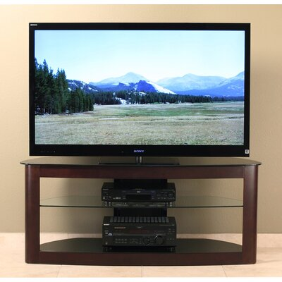 Cheap Transdeco 55″ Flat Panel TV Stand in Espresso (TDI1062)