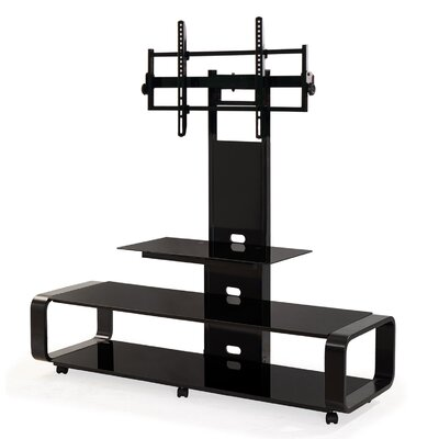 Stemple 60 TV Stand Color: Black