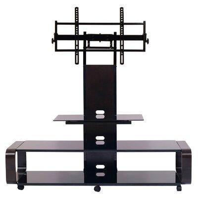 Stemple 60 TV Stand Color: Espresso/Black