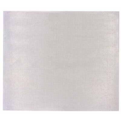 Lincaine Perforated Sheet (Set of 3) Size: 36 W x 36 D, Finish: Mill