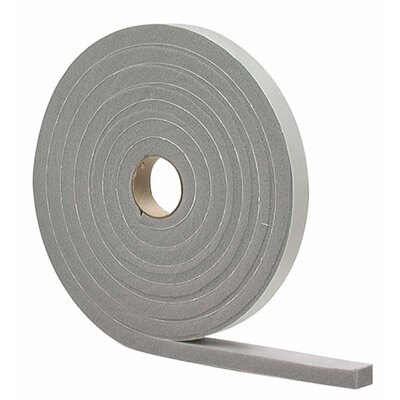 """M-d Products Waterproof and Airtight Foam Weather Strip Tape - Color: Gray, Size: 0.25"""" W x 204"""" D at Sears.com"""