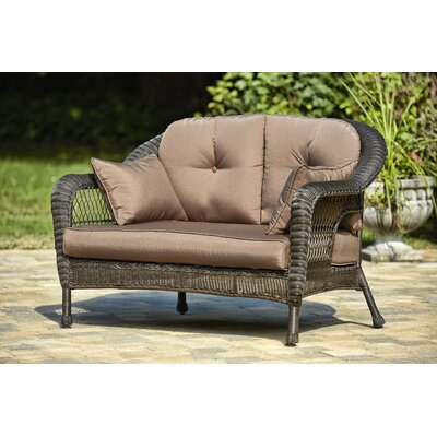Double Lounge Chair with Cushions
