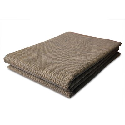 MultiIndoor/Outdoor Rug Wicker Brown Indoor/Outdoor Area Rug Rug Size: Rectangle 51 x 66