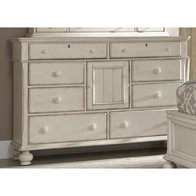 Newport 8 Drawers Combo Dresser