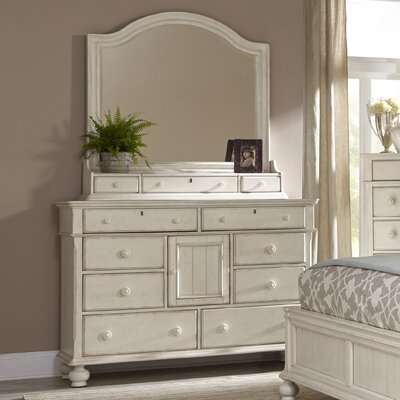 Newport 11 Drawer Dresser with Mirror
