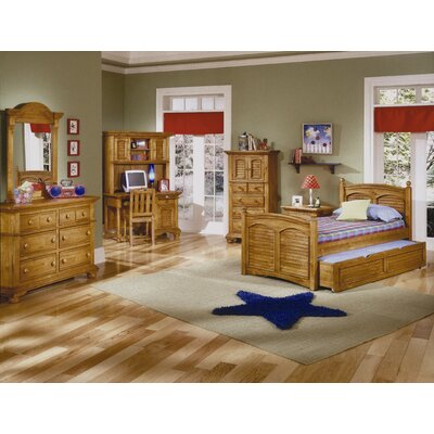 Montcerf Arched Crown Panel Customizable Bedroom Set