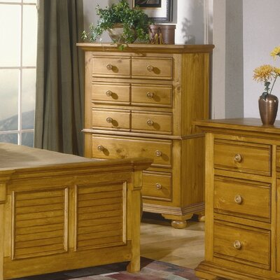 American Woodcrafters Cottage Traditions 5 Drawer Chest - Finish: Distressed Sandstone at Sears.com