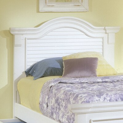 Montcerf Panel Headboard Size: Twin, Color: Distressed Eggshell White