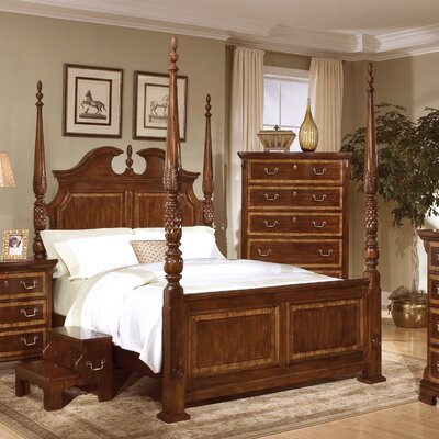 1 Cheap Wellington Manor Four Poster Bed Low Price Shipping