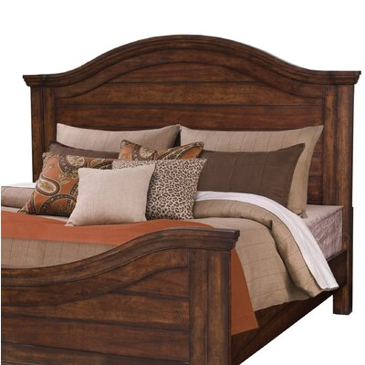 Priston Panel Headboard Size: King, Color: Tobacco
