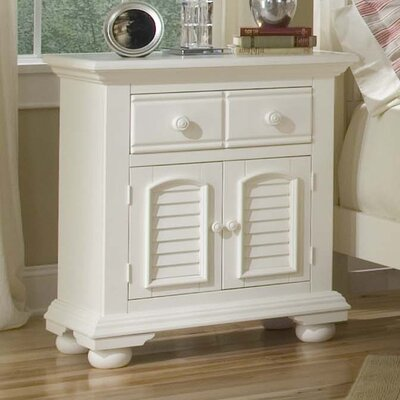 Colgett Nightstand Finish: Distressed Eggshell White