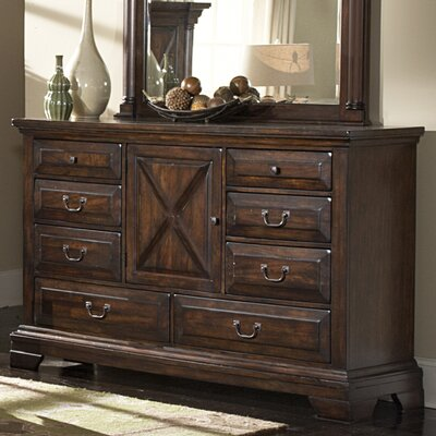 Financing for Heritage Lodge Triple 8 Drawer Dres...