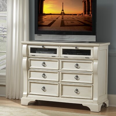 Paulina 6 Drawer Media Chest