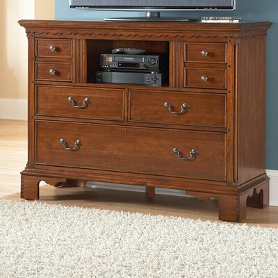 American Woodcrafters Nantucket 6 Drawer Media Chest at Sears.com