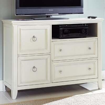 American Woodcrafters Courtyard 4 Drawer Media Chest at Sears.com