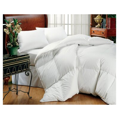 Midweight Down Comforter Size: King