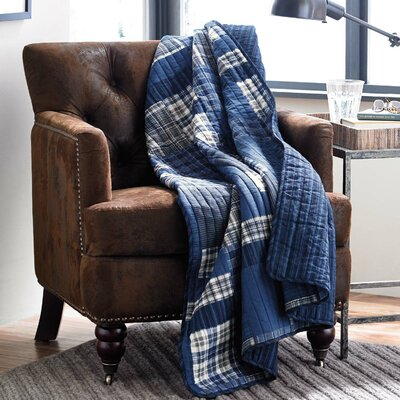 Eddie Bauer Eastmont Quilted Cotton Throw Blanket