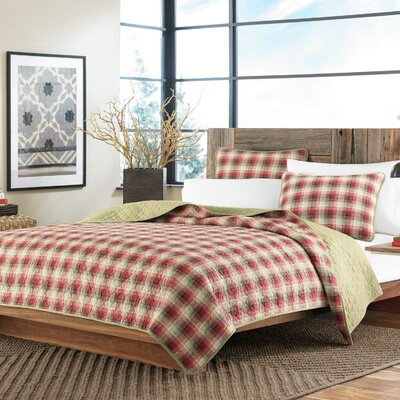 Ravena Reversible Coverlet Set Size: Twin
