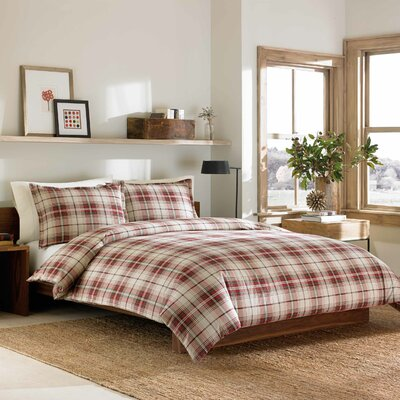 Montlake Duvet Cover Set Size: King