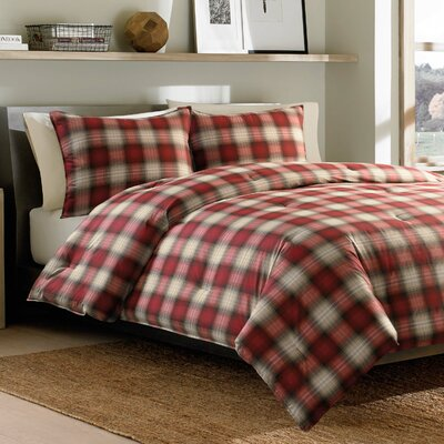 Navigation Plaid Reversible Comforter Set