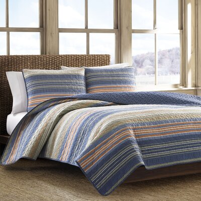 Yakima Valley Reversible Coverlet Set Size: Twin