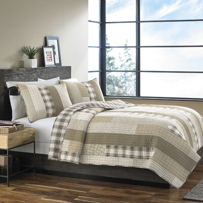 Fairview Reversible Quilt Set Size: Twin