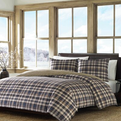 Port Gamble Reversible Duvet Cover Set Size: King