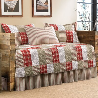 5-Piece Emiliano Cotton Daybed Coverlet�Set by Eddie Bauer 206702